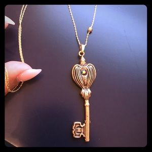 NWOT ALEX AND ANI Angel Key Expandable Necklace